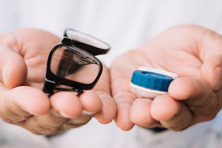 akiniai ar lęšiai