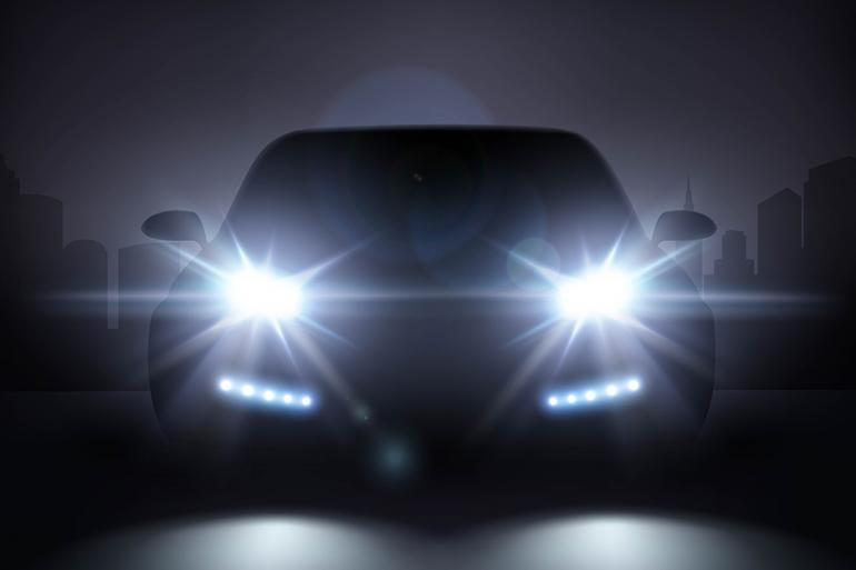 vairavimas tamsoje