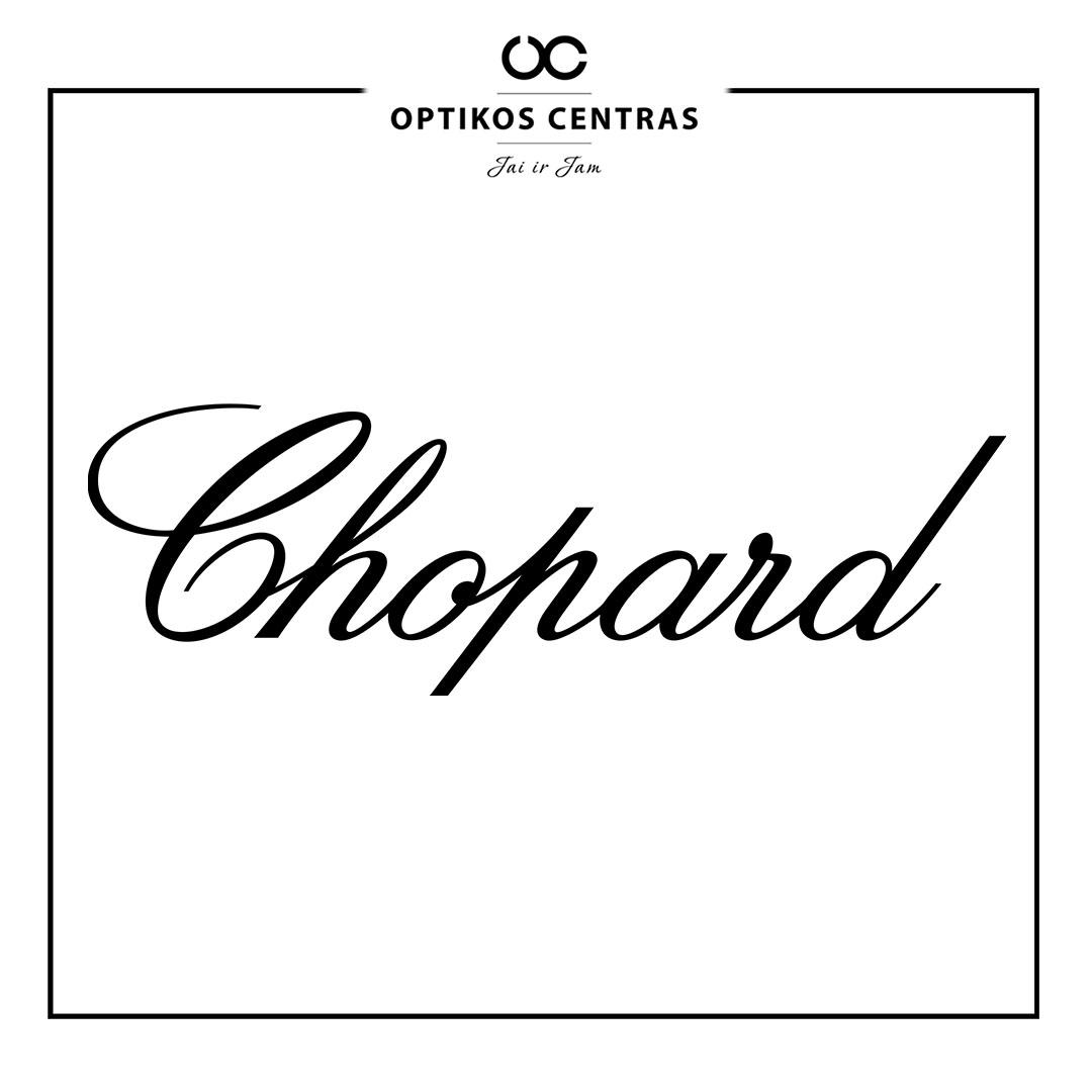 Chopard akinių rėmelių prekinis ženklas