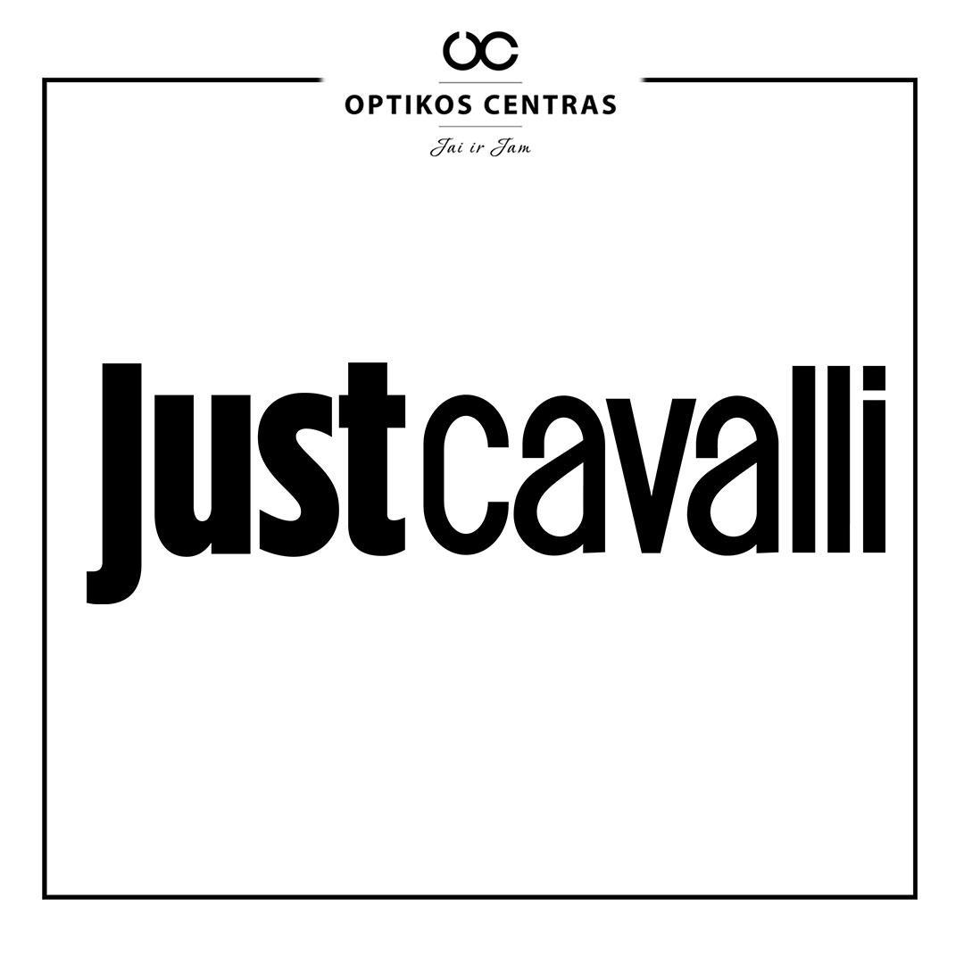 justCavalli akinių rėmelių prekinis ženklas