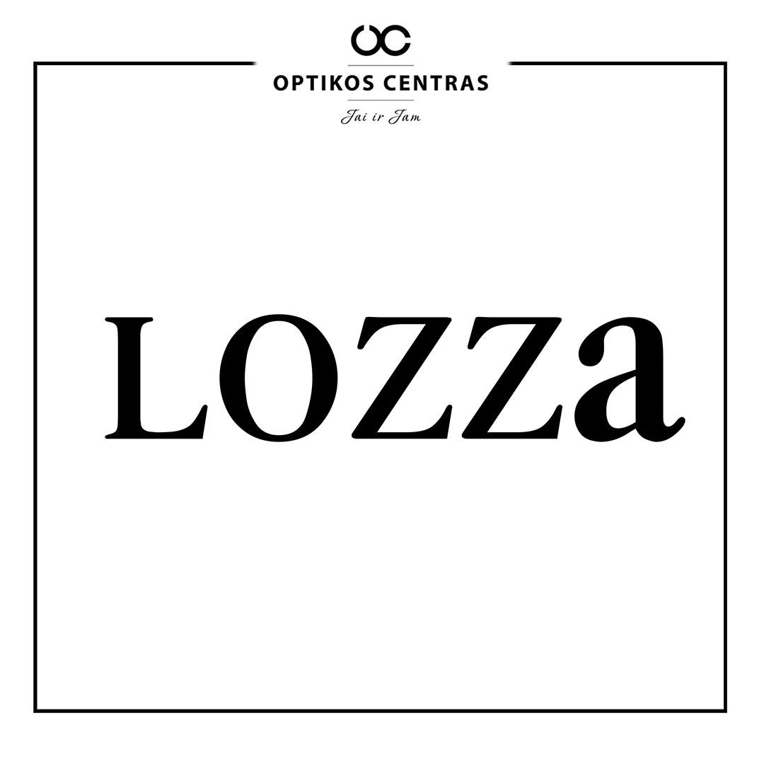 lozza akinių rėmelių prekinis ženklas