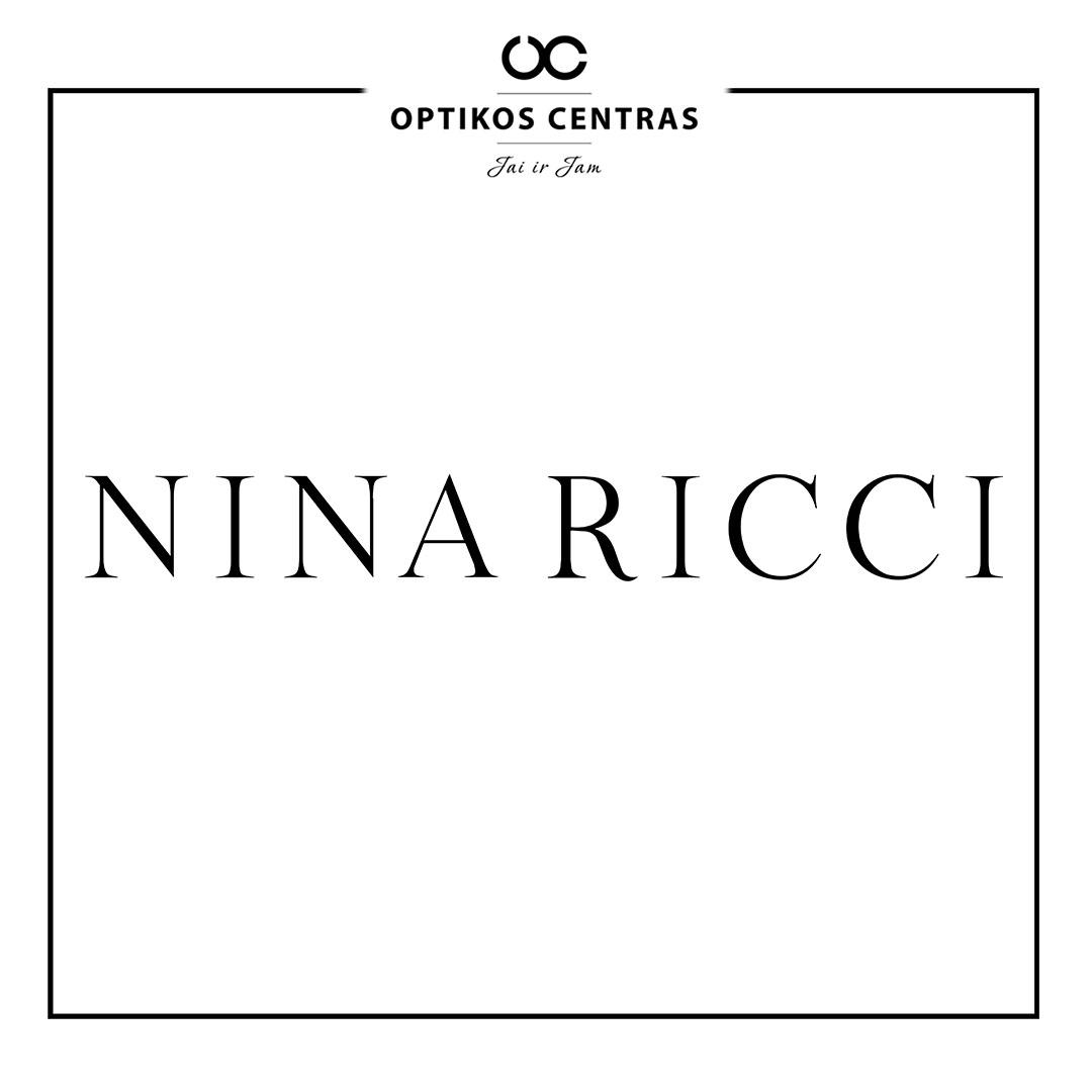 ninaRicci akinių rėmelių prekinis ženklas