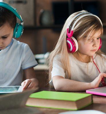vaikai ir kompiuteris